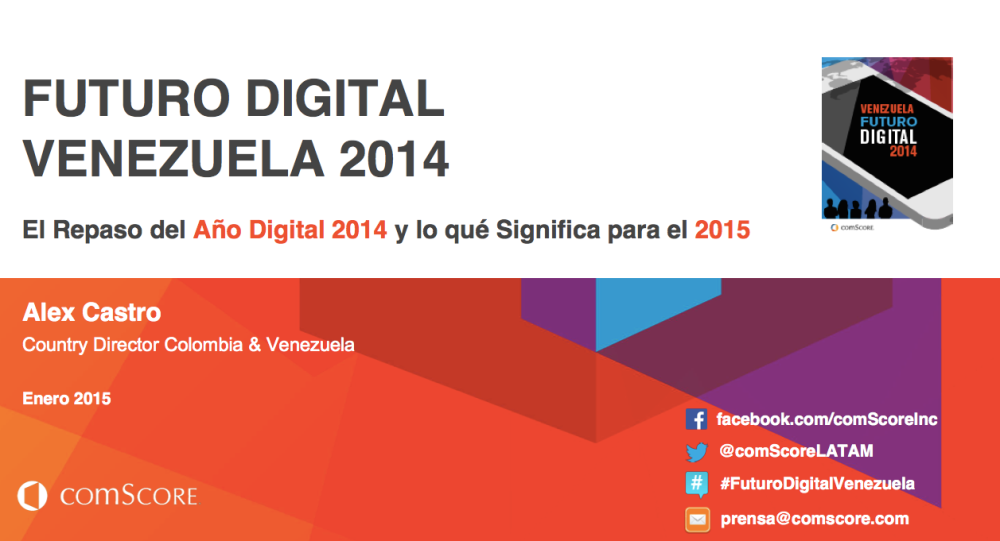 Futuro Digital Venezuela - Comscore